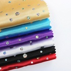 polyester satin 6mm sequin fabric also can do interlock 2mm loose round sequins