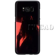 Эстетическая аниме «Демон» для девочек мягкий чехол для телефона для samsung 10 плюс A10S A20S A30S A40S A50S J4 J8 2018 J6 J4 премьер-Чехол(Китай)