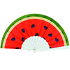 [I AM Your Fans]custom Printed Polyester Fabric Plastic Printing Promotion Hand Fan 50PCS is welcome