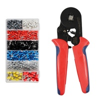 HSC8 6-4A ferrule crimping tool kit 0.25-10mm2 AWG 23-7 crimping plier set