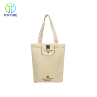 Customized Woman Shoulder Handbags White Organic Canvas Tote Bag