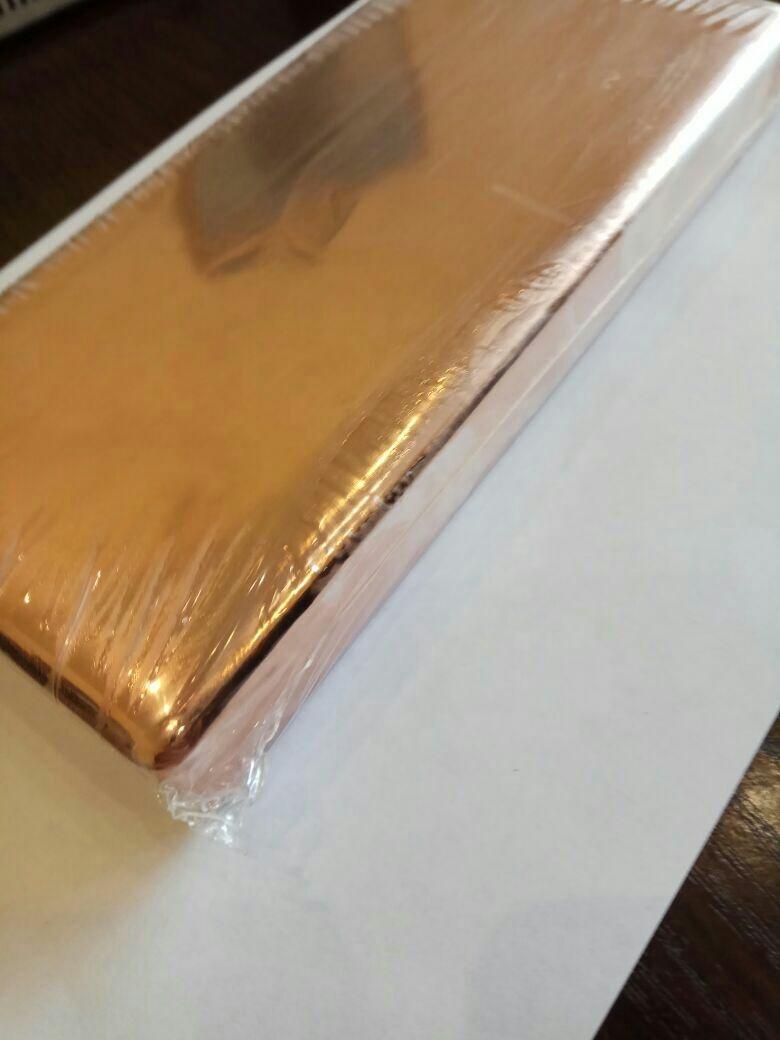 High purity copper in ingots