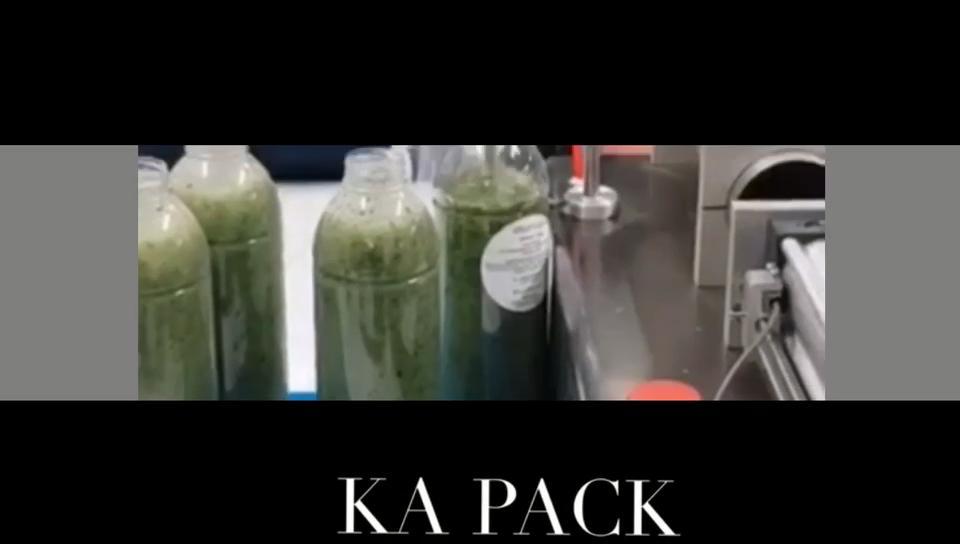 KA 포장 반자동 액체 과일 음료 주스 병 충전물 기계