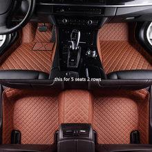 Автомобильные коврики на заказ для hyundai santa fe getz tucson ix25 ix35 creta elantra kona i30, кожаные коврики для всех моделей, аксессуары(Китай)