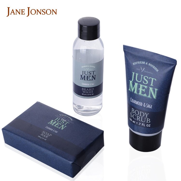 Man Gift Set New Year 3 Piece, Hand Made Soap Gift Set For Man