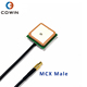 25*25 Active Internal Glonass Ceramic Patch Antenna GPS Gnss With MCX Connector