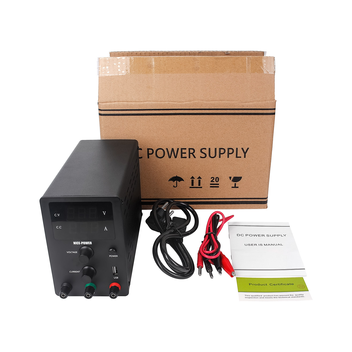 Nice Power R-SPS605 Black 60V 5A Adjustable New Design OEM Variable Dc Power Supply Laboratory Bench power supply switching