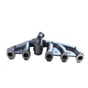 Densen customized Casting manifold, Ductile Iron Clay Sand Casting Exhaust manifold, tractor exhaust manifold