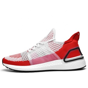 Breathable mesh sports  odor-proof light running shoes for men