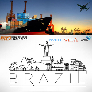 Air Cargo Cheap Airport Freight Rate Shipping Company China To Rio de Janeiro BRAZIL