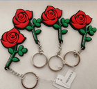 Promotional Cheap Custom 2D 3D Rubber Soft Pvc Keychain Eco Friendly PVC Keyring Rubber Holder Key