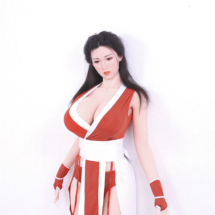 High quality realistic big breast love doll Chinese style silicone sexy doll