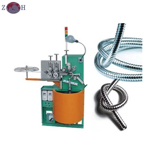 Interlock flexible metal hose machine for max. metal hose diameter 50mm
