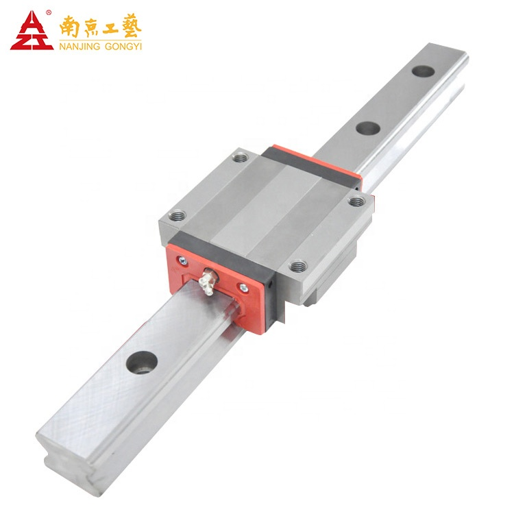 20mm linear guide can replace Hiwin slide block HGH20HA Linear block and linear guide bearing rail