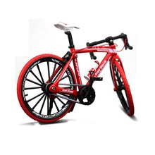 2019 Amazon Hot Koop Lichtmetalen Mini Vinger Speelgoed Mountainbike <span class=keywords><strong>Model</strong></span> Fiets <span class=keywords><strong>Gegoten</strong></span> Kids Toy Diecast <span class=keywords><strong>Model</strong></span> <span class=keywords><strong>Auto</strong></span>