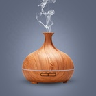 Scents diffuser air anion aromatherapy essential oil aroma humidifier bamboo nebulizing diffuser fresh aroma nebulizer