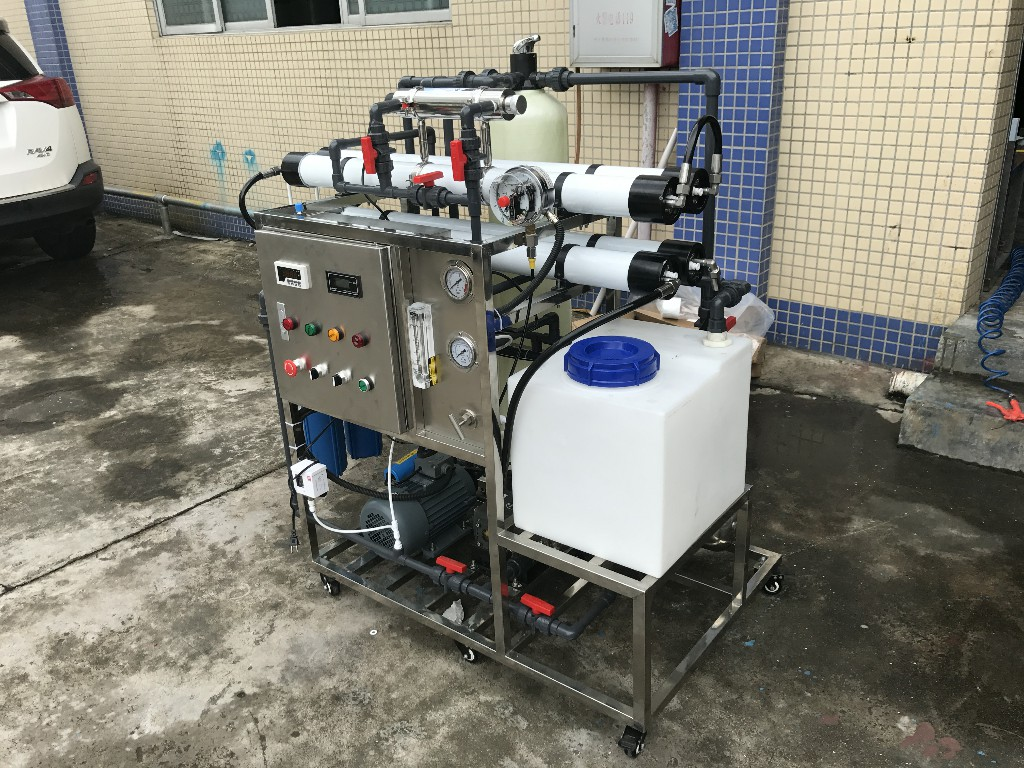 product-200lphDesalinator Brackish Seawater Sea Water Desalination Machine Ro Reverse Osmosis Indust-2