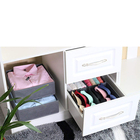 Guang Zhou Quality Product Fabric Underwear Lingerie Organizer Storage box