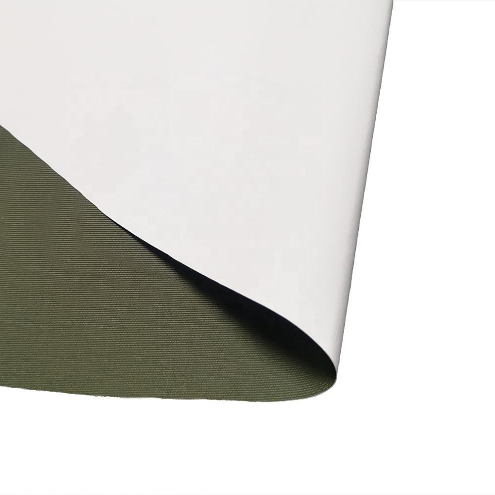 2020 Lesen Textile impermeable 228T nylon taslan tela con pu mikly revestimiento