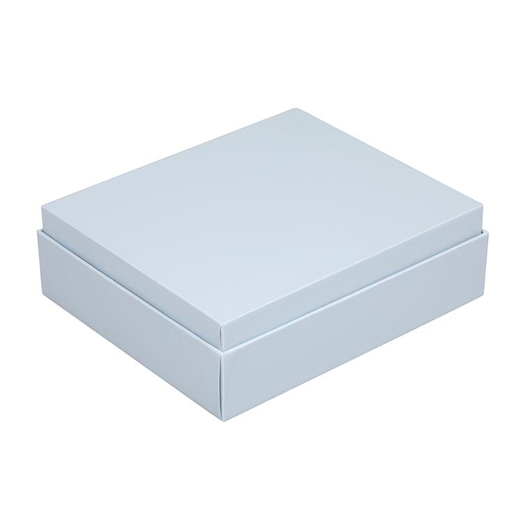 Personalizado de luxo Quadrado Branco Caneta Copo de Papelão de Embalagem Caixa de Presente para O Marido