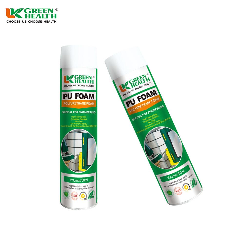 Impermeable de espuma de poliuretano selladores fabricante aislamiento de spray