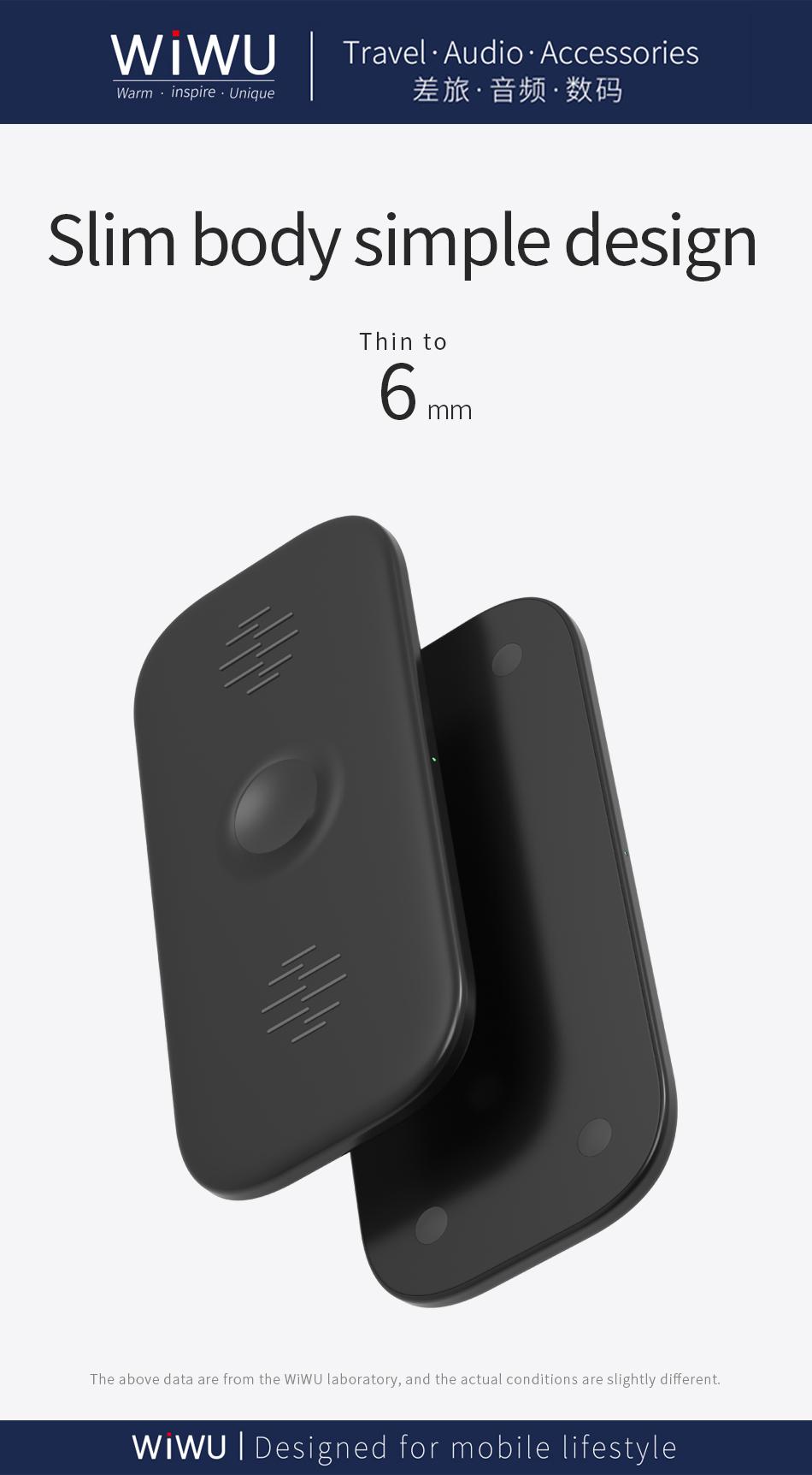 WIWU M2 二合一 无线充电器 (https://www.wiwu.net.cn/) 无线充电器 第9张