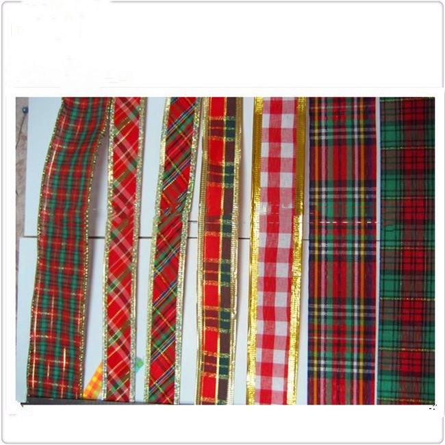 1/8 inch to 4 inch china 100% polyester  cheap high quality  colorful Chinese  Online shopping scottish lattice printed ribbon