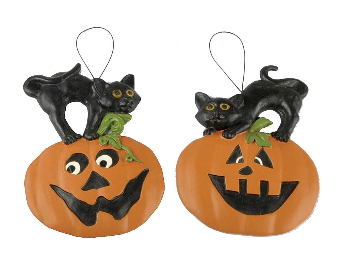 2020 Wholesale Resin Pumpkin Ornaments for Halloween Decoration