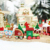 2019 New Design Colorful Painted Christmas Train Toy Decoration For Home