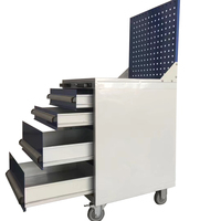 custom garage stainless steel tool box cart multifunctional tool cart trolley with hand tools