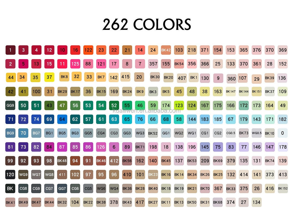In Stock 12/24/36/48/60/72/100/120 Colors Set Drawing Lettering Calligraphy Fineliner Dual Tips Watercolor Art Marker Brush pen