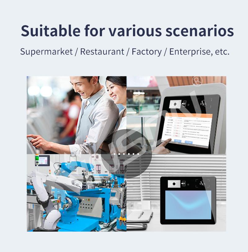 Android 10,1 zoll Smart Terminal/Preis Checker mit barcode scanner für Supermarkt