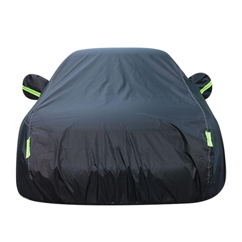 All-Weather Single-Layer Oxford Stof Universele Auto Cover Waterdichte Outdoor Uv Bescherming Stofdicht Full Body Auto Cover