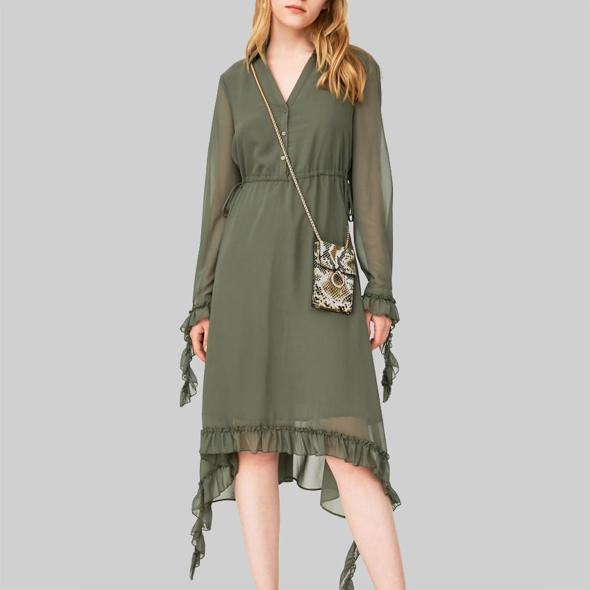 nuevo concepto 5d1dc ccdc7 Venta al por mayor falda campana larga-Compre online los ...