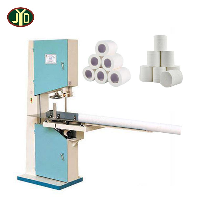 JYD Mini Toilet Paper Processing Packaging Cutting Machine Toilet Paper Making Machine Price For Making Toilet Paper Roll