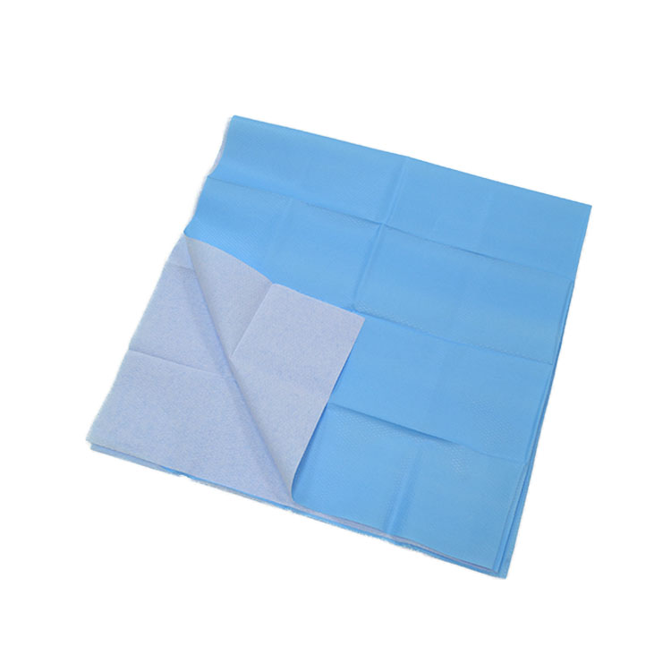 Factory Directly Sell  Customized Size  Waterproof Disposable  Medical  Implant  Sterile Surgical Drape With Hole