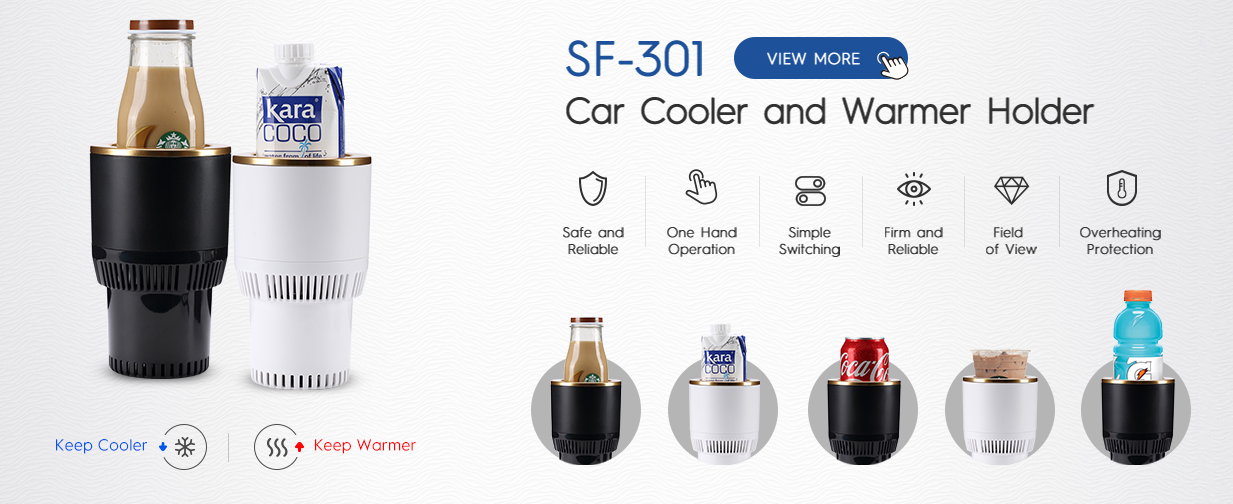 Business Anniversary Gift Car Smart Cooling and Heating Cup Holder Corporate Business Gift Sets Luxury
