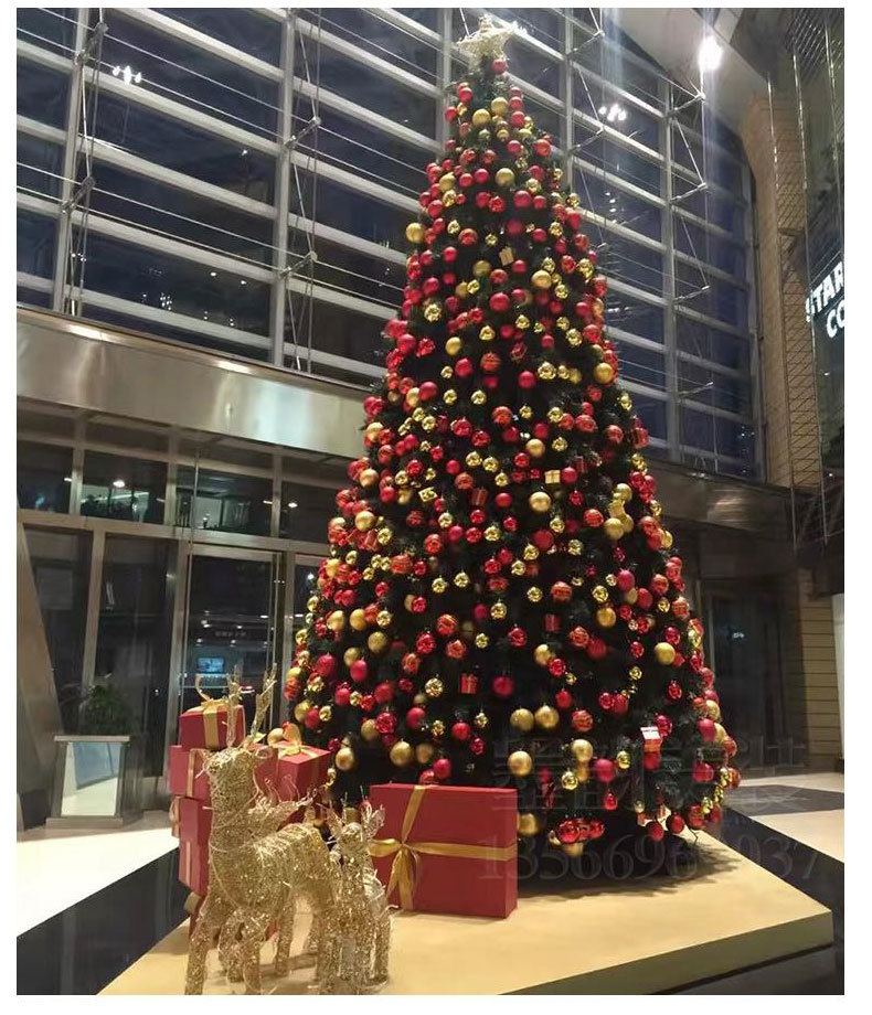 Christmas Decorations Large Steel Frame Tree Hotel Ping Mall Outdoor Scene Decoration