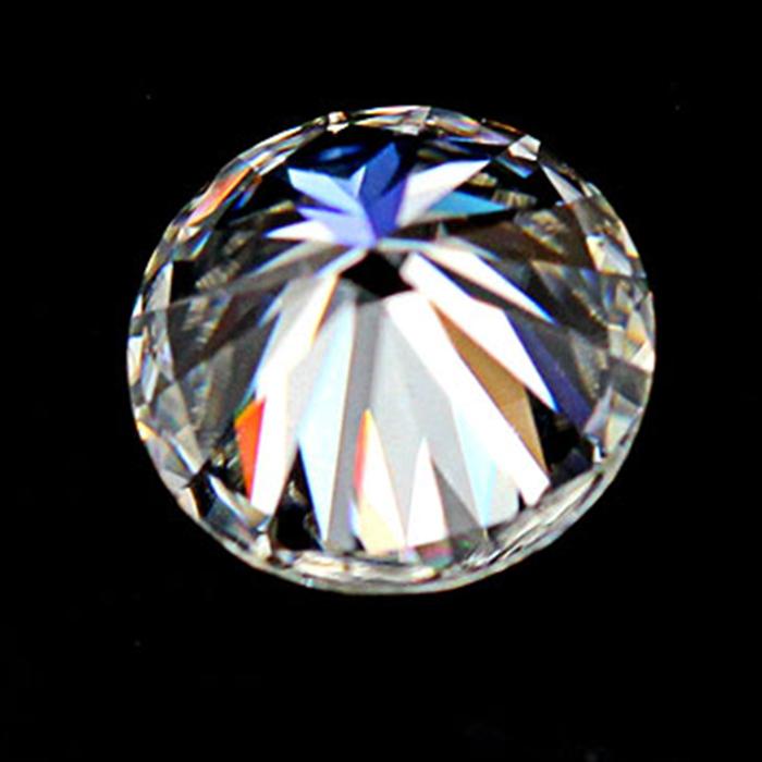 GRA certificate D color VVS 1 carat round loose moissanite stones