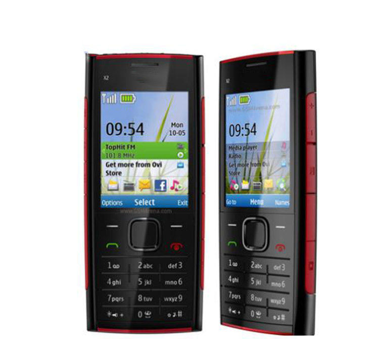 In stock Unlocked phone for X2-00 telephone for nokia make in finland