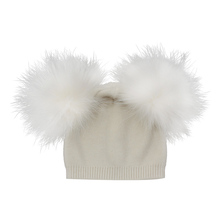 Nieuwe Trend Angora Wol Kid Muts Baby <span class=keywords><strong>Winter</strong></span> Pom Pom <span class=keywords><strong>Hoed</strong></span> Jongen <span class=keywords><strong>Winter</strong></span> Hoeden