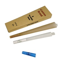 Custom organic hemp Rolling paper pre rolled cones for smoking