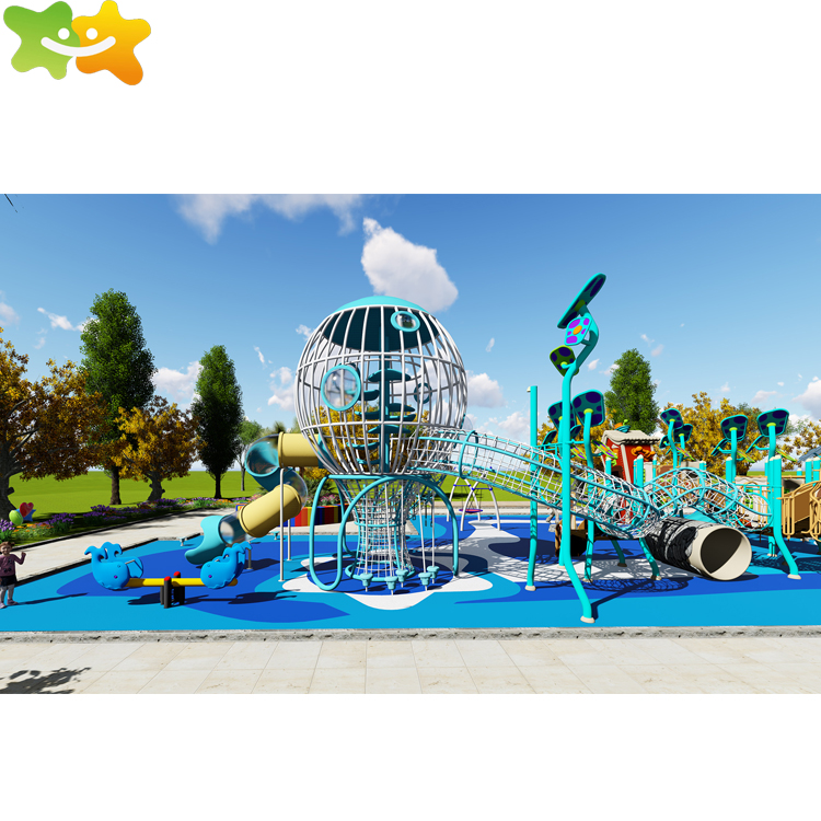Outdoor Park Fabrikant kids games apparatuur speeltuin te koop