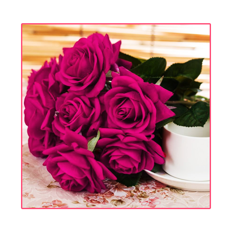 Factory direct Wholesale Different Design silk fabric Rose Artificial <strong>Flower</strong>