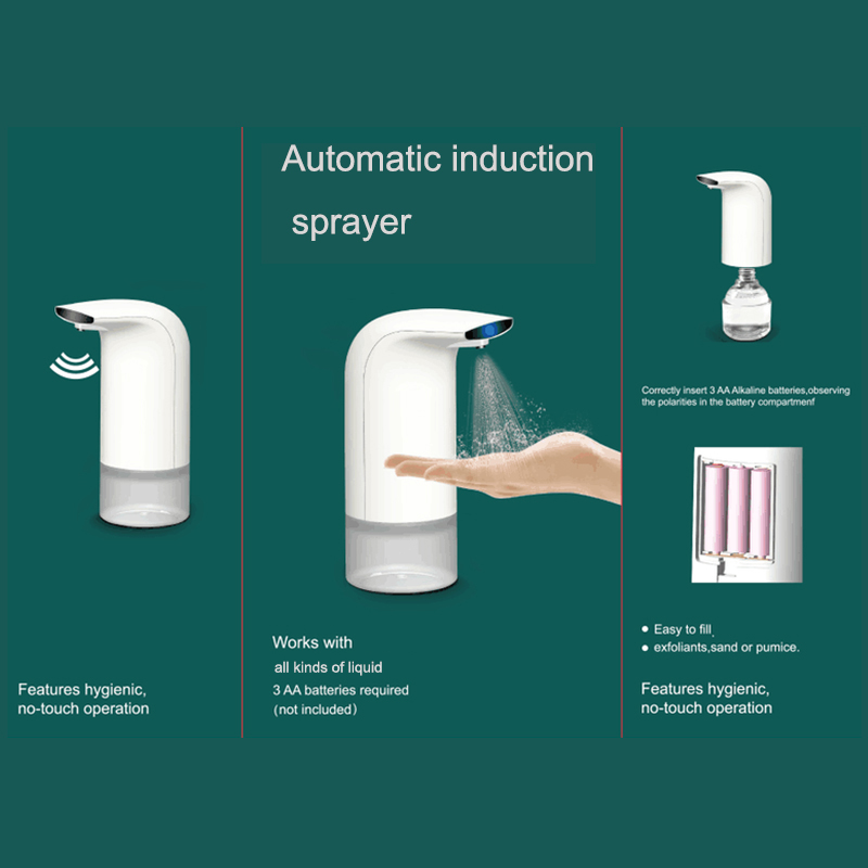 Linkwin smart induction touchless hand wash mist sprayer with free shipping