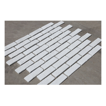 Culture white artificial brick exterior building wall tiles