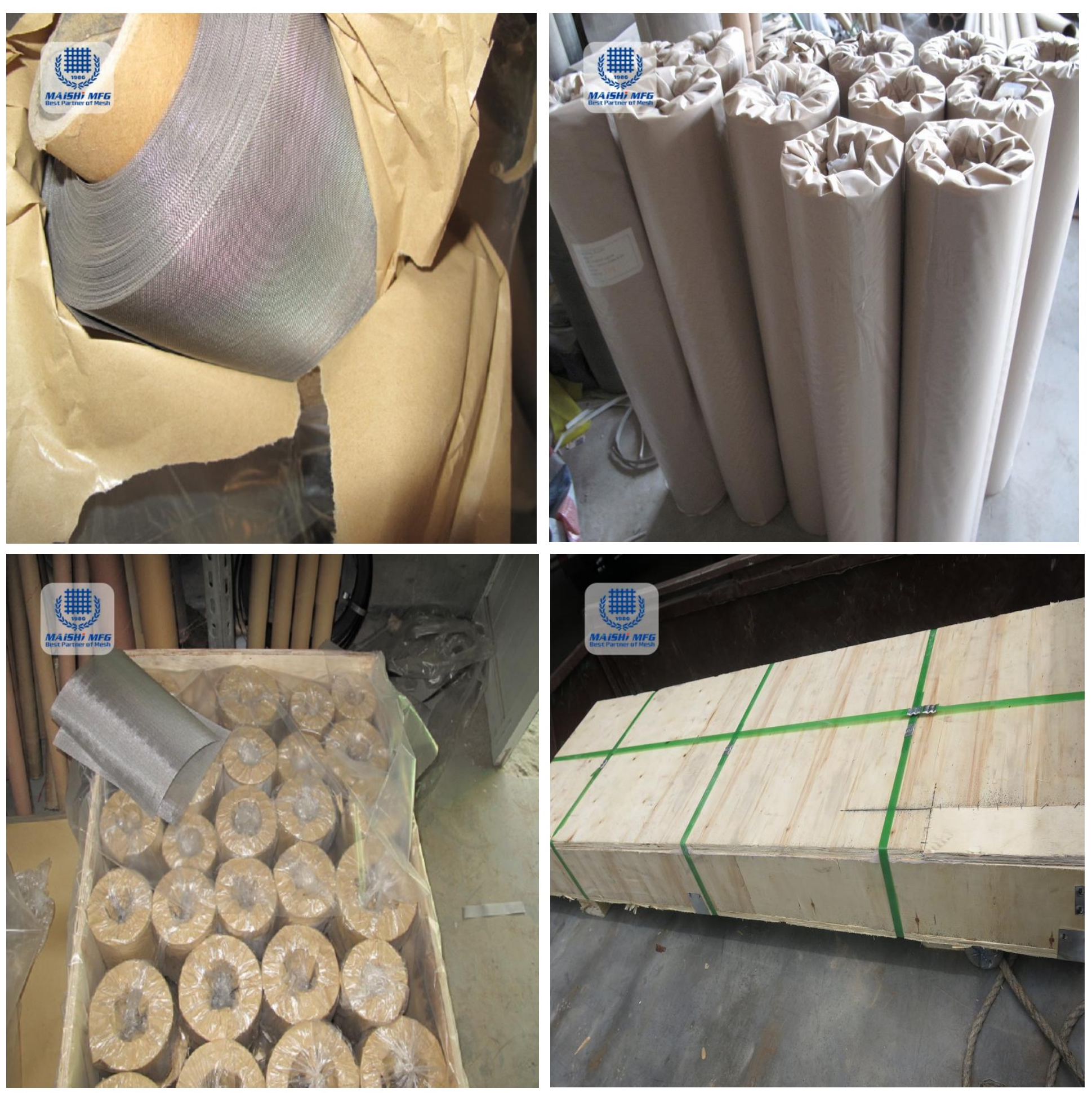 China Supply Micron Stainless Steel Woven Filter Mesh Food Grade