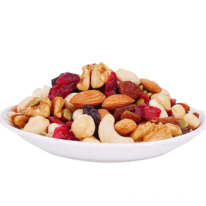 Customized Roasted Mixed Nuts Snacks Almonds Walnuts Cashew Nuts