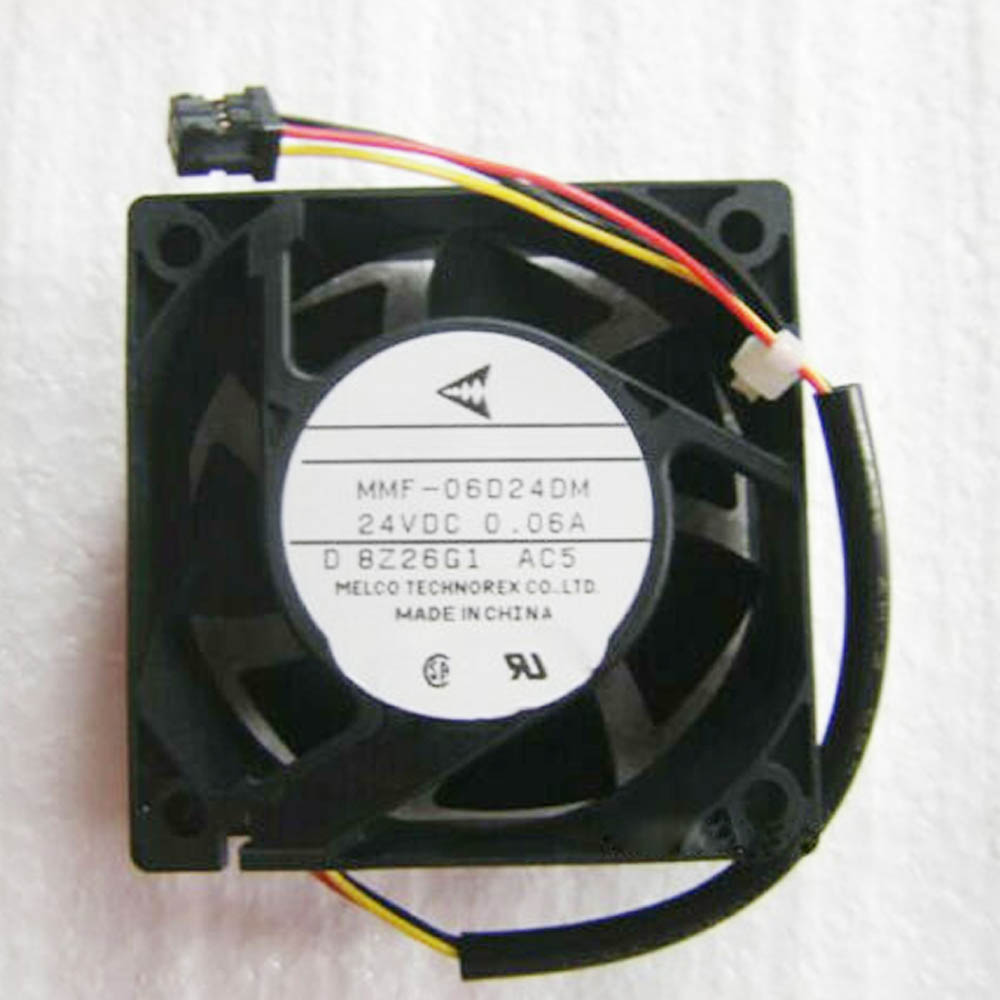 MITSUBISHI 60*25mm MMF-06D24DS RC4 24V 0.09A 3Wire Cooling Fan