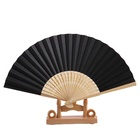 Bamboo Paper Fan Fans Fanbamboo Best Selling Chinese Japanese Plain Color Bamboo Large Rave Folding Paper Hand Fan Craft Fans